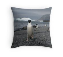 Here come the guys... Throw Pillow