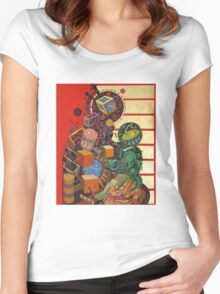 """Byzantine Construction"" 1 Women's Fitted Scoop T-Shirt"
