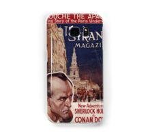 Sherlock Holmes  - The Strand Magazine Cover - Vintage Print Samsung Galaxy Case/Skin