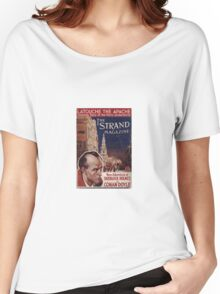 Sherlock Holmes  - The Strand Magazine Cover - Vintage Print Women's Relaxed Fit T-Shirt