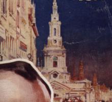 Sherlock Holmes  - The Strand Magazine Cover - Vintage Print Sticker