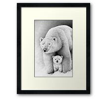 Comfort in the Cold Framed Print