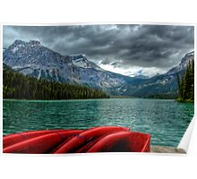 Emerald Lake, Yoho National Park, Canada Poster