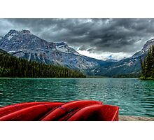 Emerald Lake, Yoho National Park, Canada Photographic Print