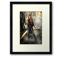 Kate Beckett / Nikki Heat Framed Print
