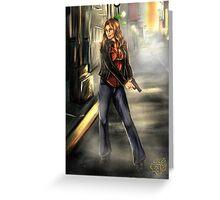 Kate Beckett / Nikki Heat Greeting Card