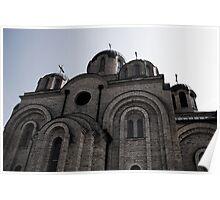 Kosovo Monastery Poster