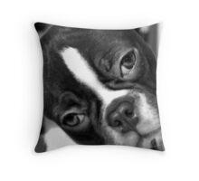 Penelope bw Throw Pillow