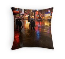 42nd Street Throw Pillow