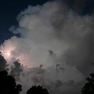 Evening Thunderstorm by MMerritt
