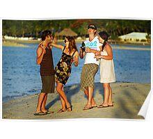 New Years Eve. Plantation Island Resort - Fiji Poster