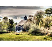 Spring Barn Photographic Print