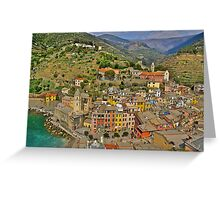 From the Tower of Vernazza (Cinque Terra) Greeting Card