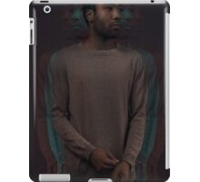 Red and blue Childish Gambino Poster iPad Case/Skin