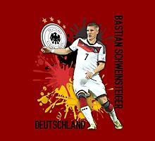 Bastian Schweinsteiger by refreshdesign