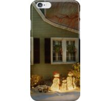 Christmas - A family moment iPhone Case/Skin