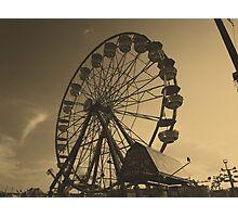 Old Amusement Photographic Print
