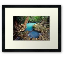 nature's private spa pool...Nth Qld Framed Print