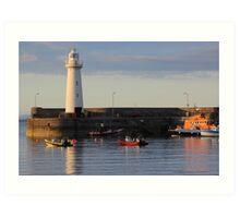 The Lighthouse (5) - Lovely Print of an Irish Lighthouse Art Print