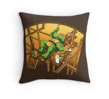 The Sistine Sewer Throw Pillow