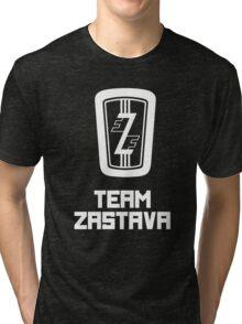 Team Zastava - Skidmark Edition Tri-blend T-Shirt