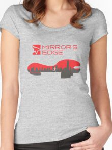 Mirror´s Edge Women's Fitted Scoop T-Shirt