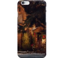 Christmas - Gingerbread House iPhone Case/Skin
