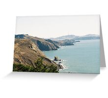 Coastline Southern Marin County, CA Greeting Card