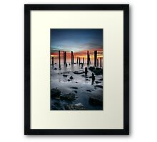 Port Willunga Framed Print