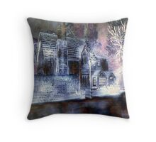 The Cottage. Throw Pillow