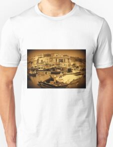 Marsaxloxx Harbour, Malta G.C. T-Shirt