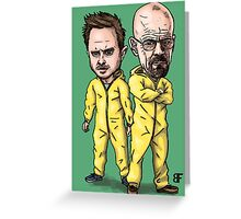 Walt and Jesse Greeting Card