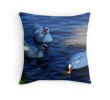 Comfort in the Heat of the Day Throw Pillow