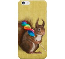 A funny squirrel iPhone Case/Skin