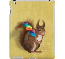 A funny squirrel iPad Case/Skin