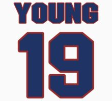 National football player Jimmy Young jersey 19 by imsport