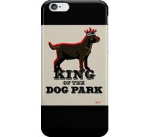 Labrador Retriever King of the Dog Park iPhone Case/Skin