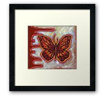 The Influence of Butterflies (sml) Framed Print