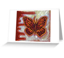 The Influence of Butterflies (sml) Greeting Card