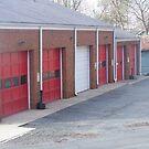 Red doors by randi1972