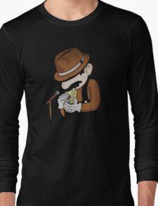 8-Bit Blues Long Sleeve T-Shirt