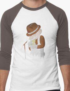 8-Bit Blues Men's Baseball ¾ T-Shirt