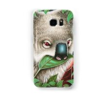 Cute Koala Munching a Leaf Samsung Galaxy Case/Skin