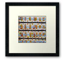 Weaving Light Framed Print