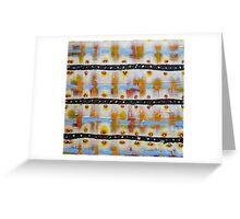 Weaving Light Greeting Card