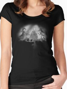 Limbo Falls Women's Fitted Scoop T-Shirt
