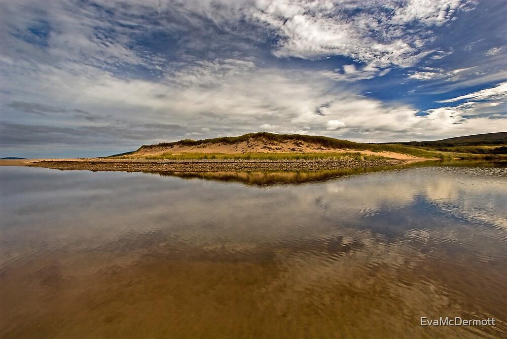 River Reflection by EvaMcDermott