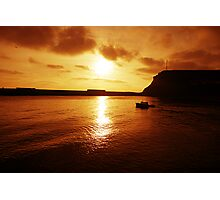 Leaving Harbour Photographic Print