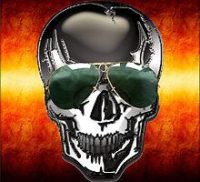 Skull Google by Bluesax