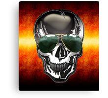 Skull Google Canvas Print